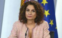 María Jesús Montero, ministra de Hacienda en funciones (Foto: Pool Moncloa / Borja Puig de la Bellacasa)