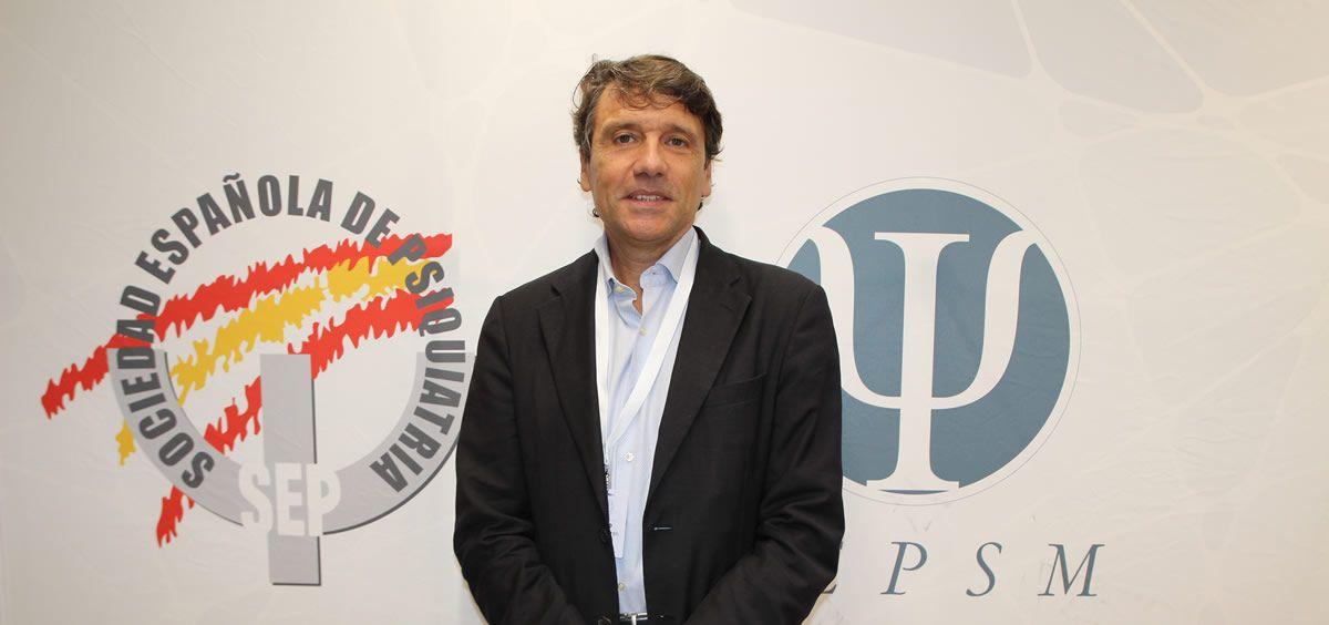 El presidente de la Sociedad Española de Psiquiatría, Celso Arango. (Foto. SEP)