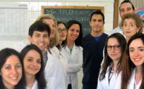 Grupo de investigadores de la Universidad Complutense de Madrid (Foto. ConSalud)
