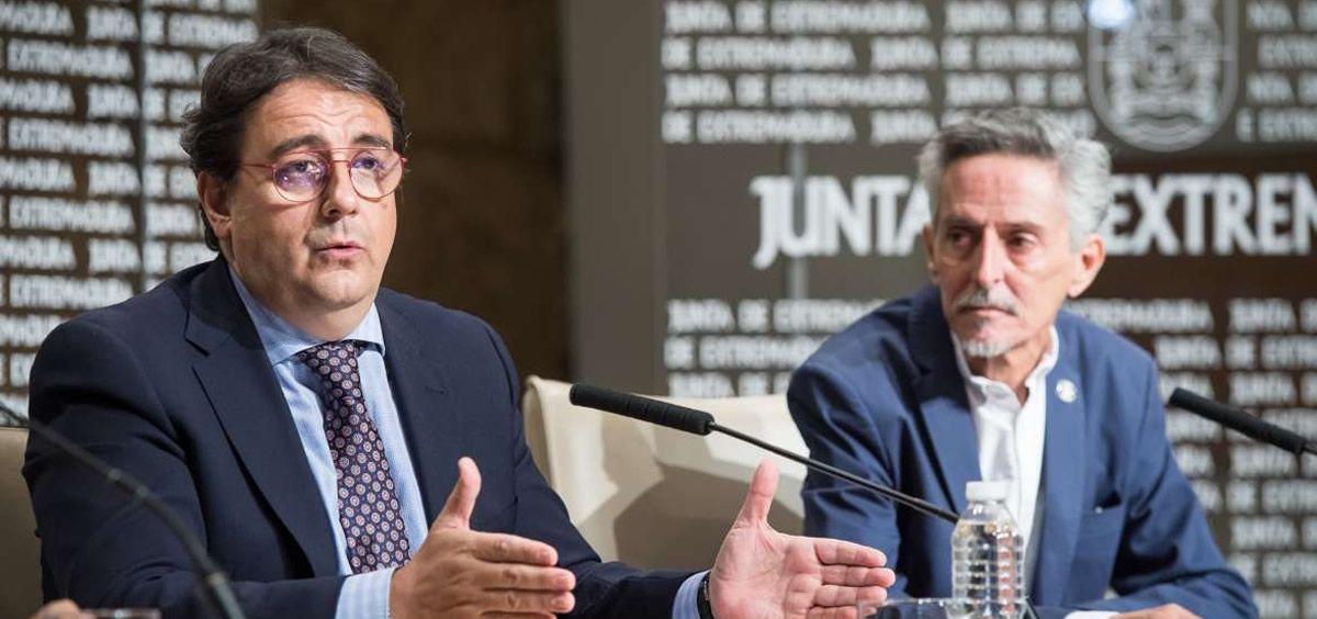 El consejero de Sanidad y Servicios Sociales de la Junta de Extremadura, José María Vergeles (Foto. Junta de Extremadura)