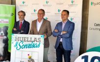 Presentación de la campaña ''Huellas y Sonrisas'' en el Hospital Quirónsalud Málaga (Foto. ConSalud)