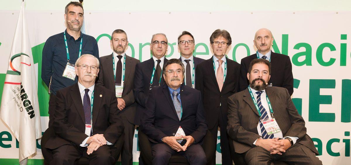 Ponentes de la mesa precongresual 'La colaboración entre la industria farmacéutica y los profesionales médicos: Formación, investigación y transparencia' (Foto: SEMERGEN)