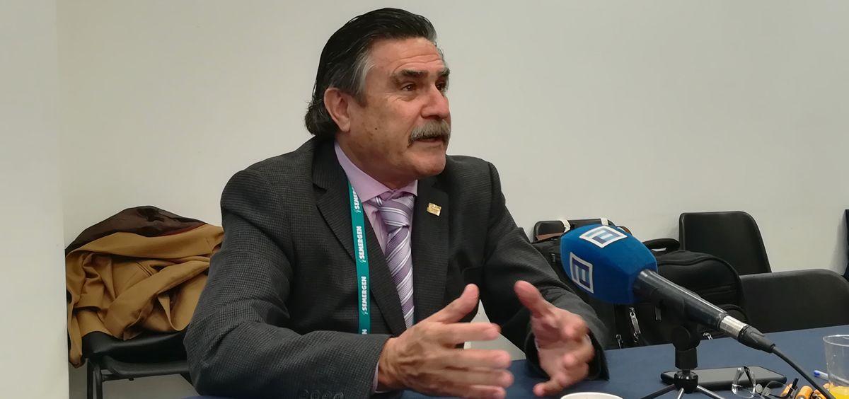 Presidente de SEMERGEN (Foto: Juanjo Carrillo - ConSalud.es)