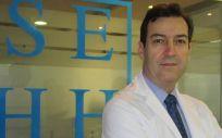 Ramón García, presidente de la Sociedad Española de Hematología y Hemoterapia (Foto. ConSalud.es)
