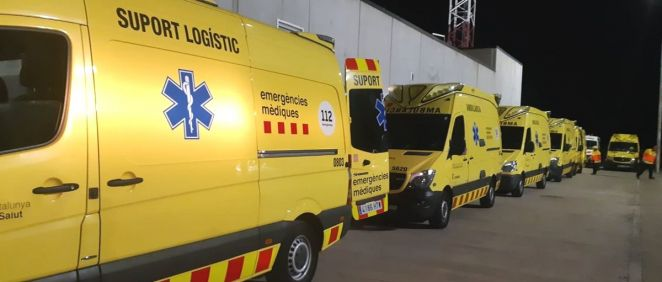 Transporte sanitario de emergencias de Cataluña (Foto: @semgencat)