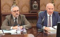Alfonso Jiménez Palacios, director del Ingesa, junto a Faustino Blanco, secretario general de Sanidad y Consumo (Foto: @INGESAnidad)