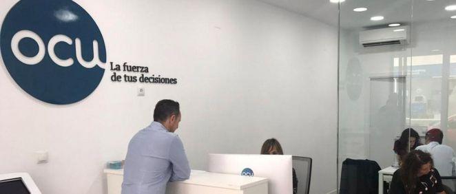 Oficina OCU (Foto. OCU)
