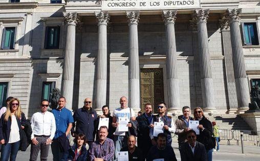 Jubilados de la Policía Nacional y Guardia Civil exigen la eliminación del copago farmacéutico