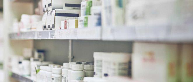 Medicamentos en farmacia. (Foto. Xunta de Galicia)
