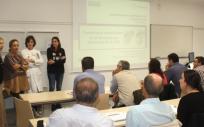 Asistentes a la jornada de actualización en patología oral y maxilofacial celebrada en Valdecilla (Foto. Gobierno de Cantabria)