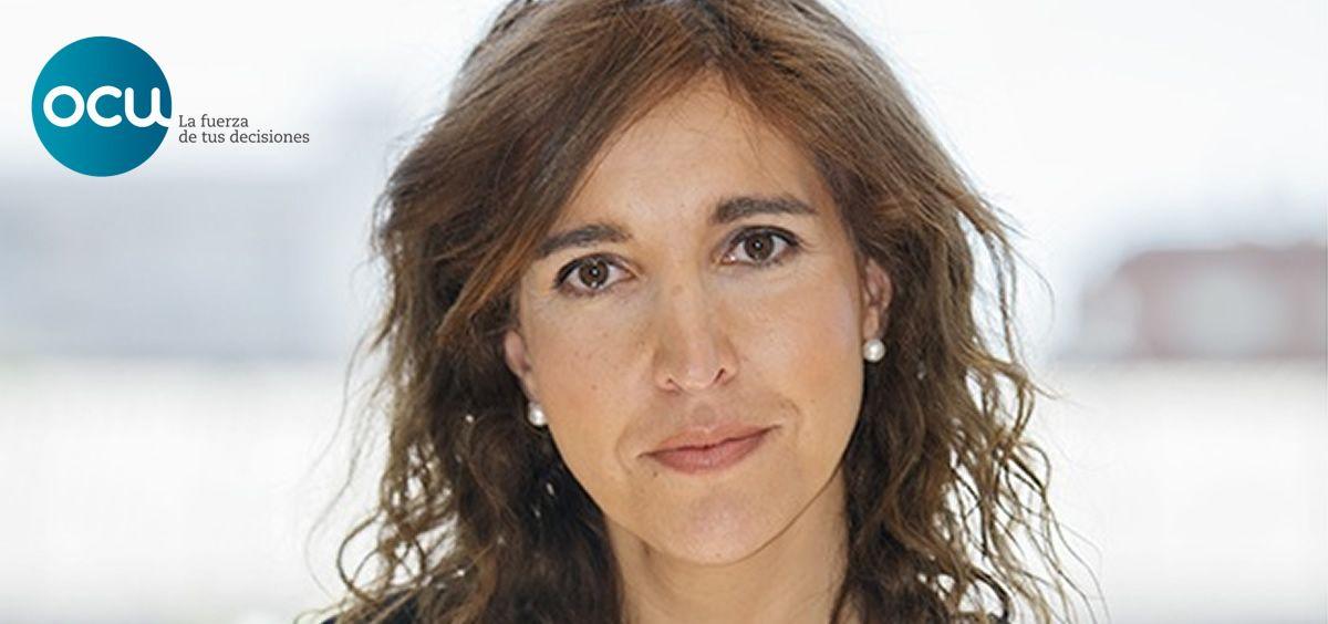 Ileana Izverniceanu, responsable de Comunicación y Relaciones Institucionales de OCU. (Foto. Fotomontaje ConSalud)