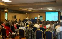 Presentación de la guía en el congreso de la Sepeap (Foto. ConSalud)