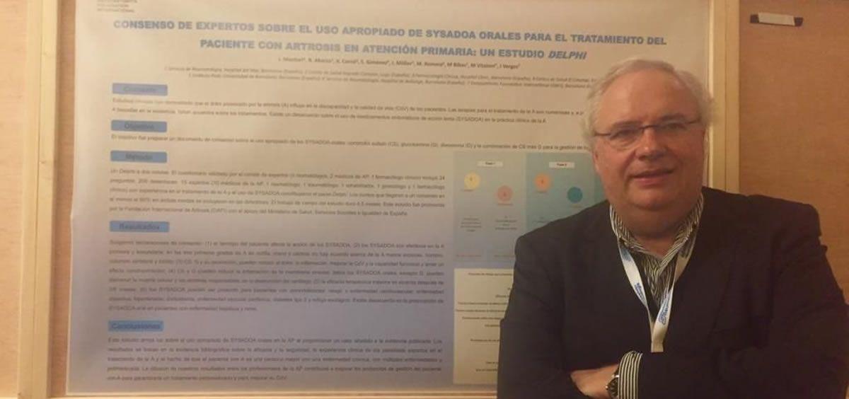 El Dr. Josep Vergés. (Foto. @DrJosepVerges)