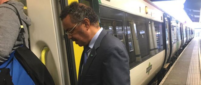 El Dr. Tedros Adhanom, director de la OMS (Foto: @DrTedros)