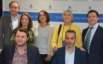 Profesionales sanitarios y pacientes, unidos para solicitar la financiación de la irrigación transanal (Foto: Consejo General de Enfermería)