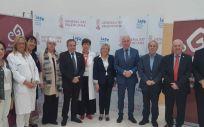 Florentino Pérez Raya, José Ramón Martínez Riera, Faustino Blanco y Ana Barceló, entre otros (Foto. ConSalud)