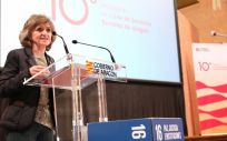 La ministra de Sanidad, Consumo y Bienestar Social en funciones, María Luisa Carcedo. (Foto. Gobierno de Aragón)