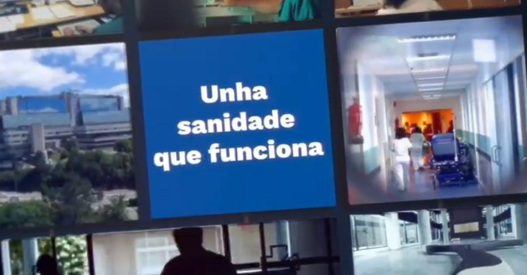 Imagen de los vídeos de la campaña 'Una Sanidad que funciona'. (Foto. PPdeG)
