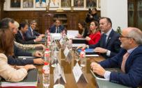 Consejo de Gobierno reunido en Valdecilla (Foto. Gobierno de Cantabria)