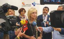 Verónica Casado, consejera de Sanidad de la Junta de Castilla y León (Foto: JCYL)