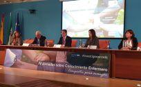 Inauguración de las IV Jornadas sobre Conocimiento Enfermero. (Foto. CGE)