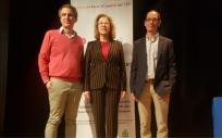 Pilar Ventura en la 'IX Jornada relación paciente VIH y profesionales sociosanitarios' (Foto. Gobierno de Aragón)