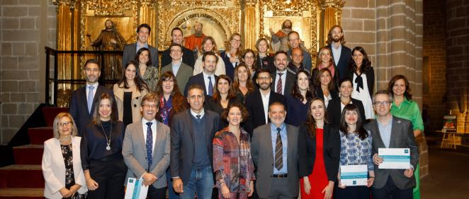 Premiados con las becas SEOM 2019 (Foto. ConSalud)