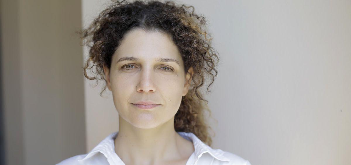 Xiana Albor, coordinadora de Imagina Más en Santiago de Compostela y participante en la campaña 'Yo trabajo positivo'. (Foto. X.A.)
