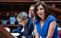 Teresa Cruz, consejera de Sanidad de Canarias (Foto: Parlamento de Canarias)