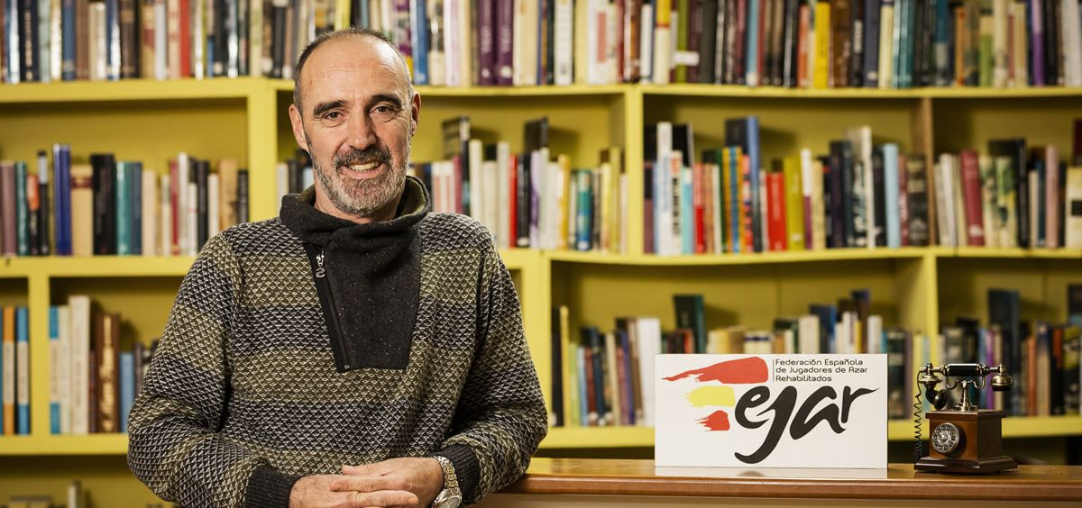 El director técnico de la Federación Española de Jugadores de Azar Rehabilitados (FEJAR), Juan Lamas. (Foto. FEJAR)