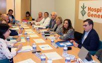 Reunión del consejo de gobierno del Consorcio Hospital General Universitario de Valencia, presidida por la consejera, Ana Barceló (Foto. Generalitat Valenciana)