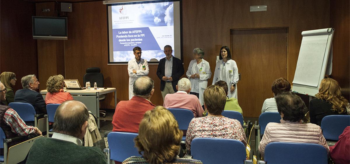 Sesión del Aula de Pacientes (Foto. Gobierno de La Rioja)
