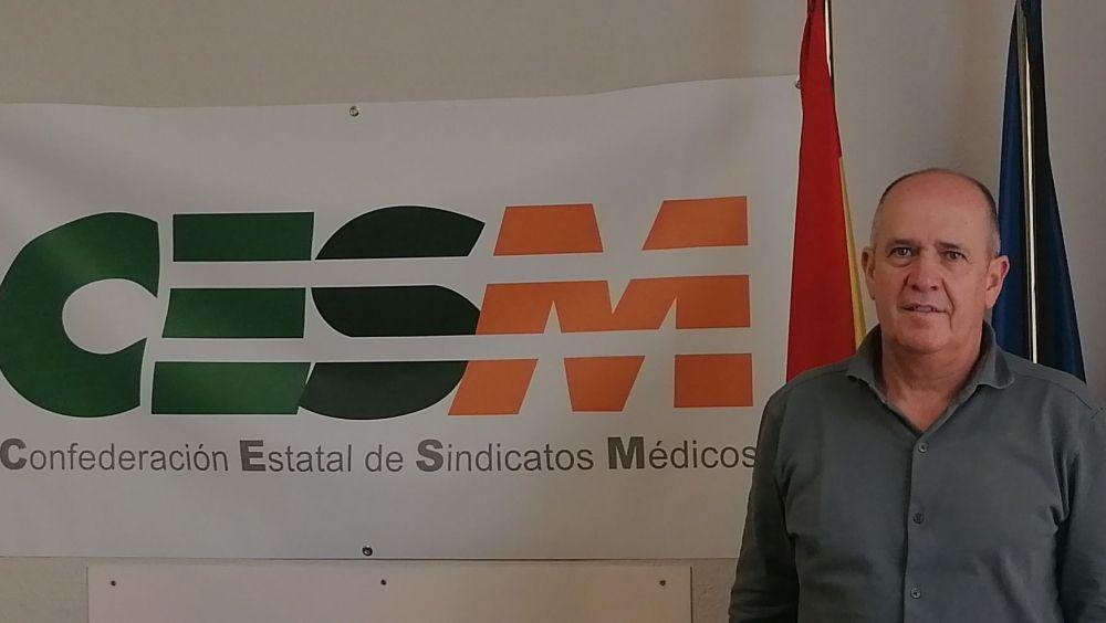 Gabriel del Pozo, secretario general de CESM. (Foto. CESM)