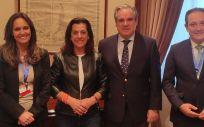 Ana López Casero, Amparo Moya, Jesús Aguilar y Juan Pedro Rísquez (Foto. ConSalud)