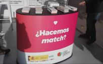 Campaña ''Un match x una vida'' (Foto. Aragón Hoy)
