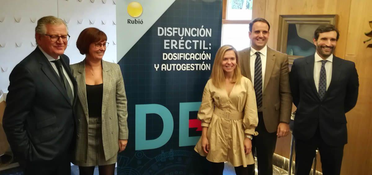 Presentación de Bandol, sildenafilo en suspensión oral, por parte de Laboratorios Rubió (Foto: ConSalud.es)