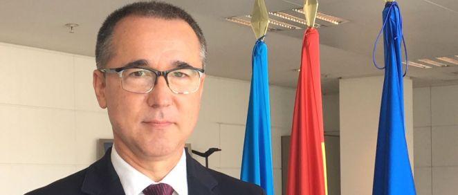 Pablo Fernández, consejero de Salud del Principado de Asturias (Foto: AsturSalud)