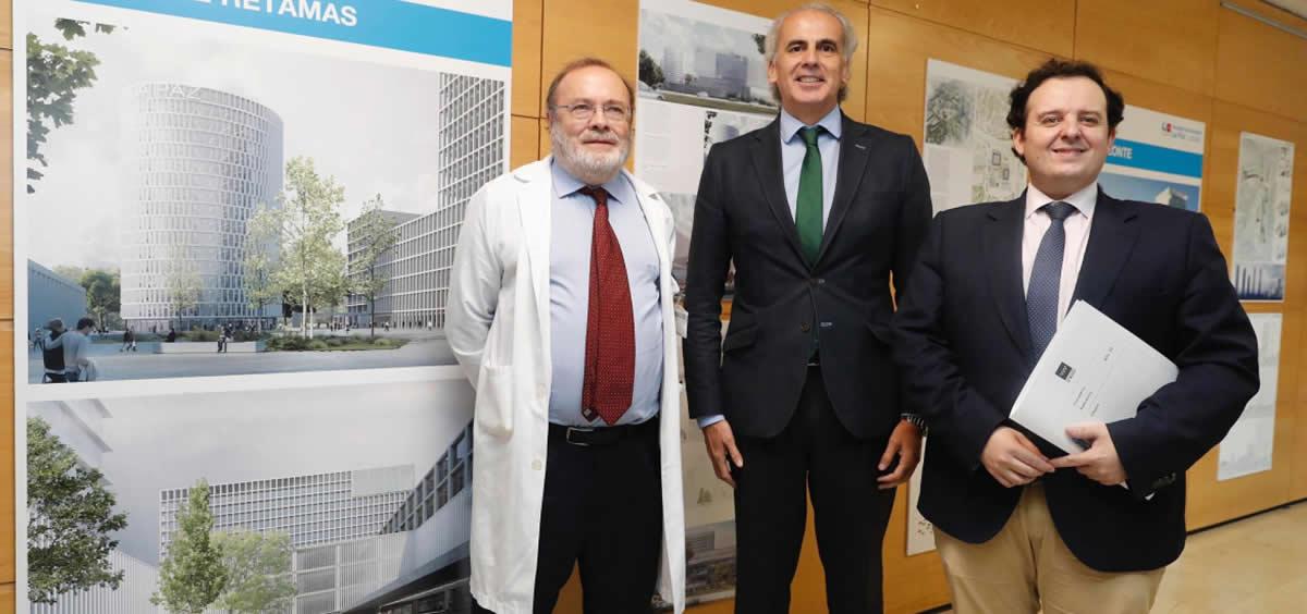 El consejero de Sanidad, Enrique Ruiz Escudero, durante la presentación del proyecto (Foto. Comunidad de Madrid)