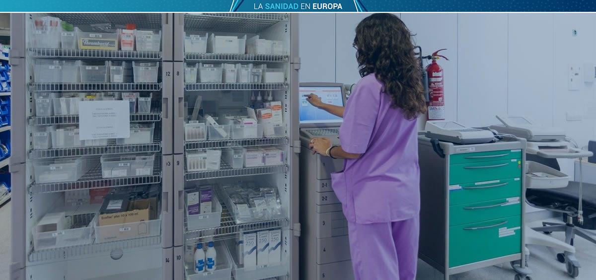 España, por debajo de la media europea en enfermeros en ejercicio (Fotomontaje ConSalud)
