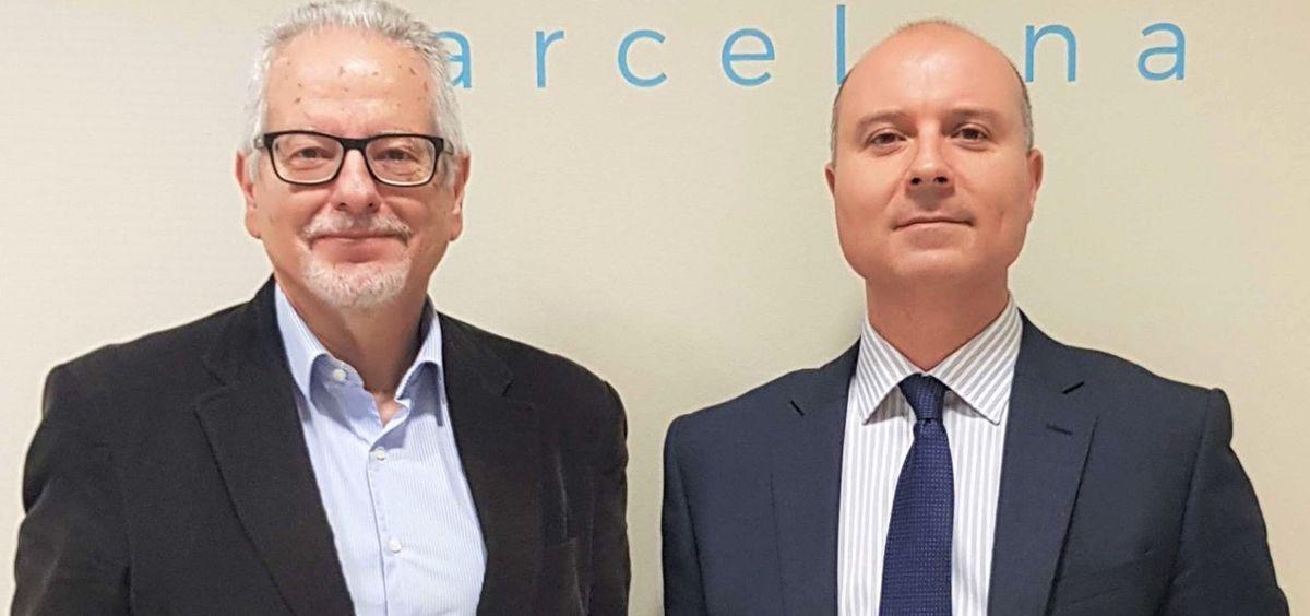 Los doctores Bartolomé Oliver y Vicenç Gilete, neurocirujanos de Neuroinstitut del Centro Médico Teknon. (Foto. ConSalud)