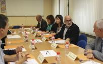 Reunión del Patronato de la Fundación Marqués de Valdecilla (Foto. Gobierno de Cantabria)