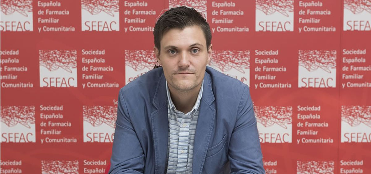 Eloi Merencio, coordinador del Grupo de Trabajo de Dolor de la Sociedad Española de Farmacia Familiar y Comunitaria (Foto: Sefac)