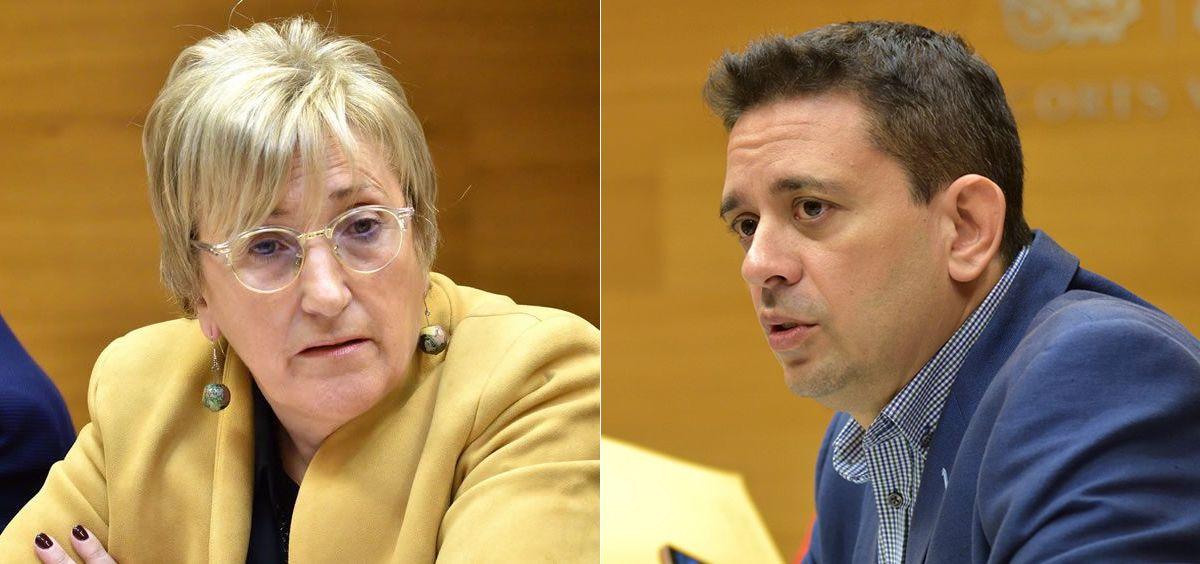 Ana Barceló, consejera de Sanidad de la Comunidad Valenciana, y José Juan Zaplana, portavoz de Sanidad del PP (Fotomontaje ConSalud.es)