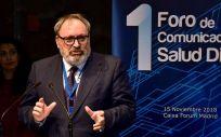 Juan Blanco, CEO del Grupo Mediforum, durante su intervención en el I Foro de Comunicación Salud Digital (Foto: Miguel Ángel Escobar - ConSalud.es)