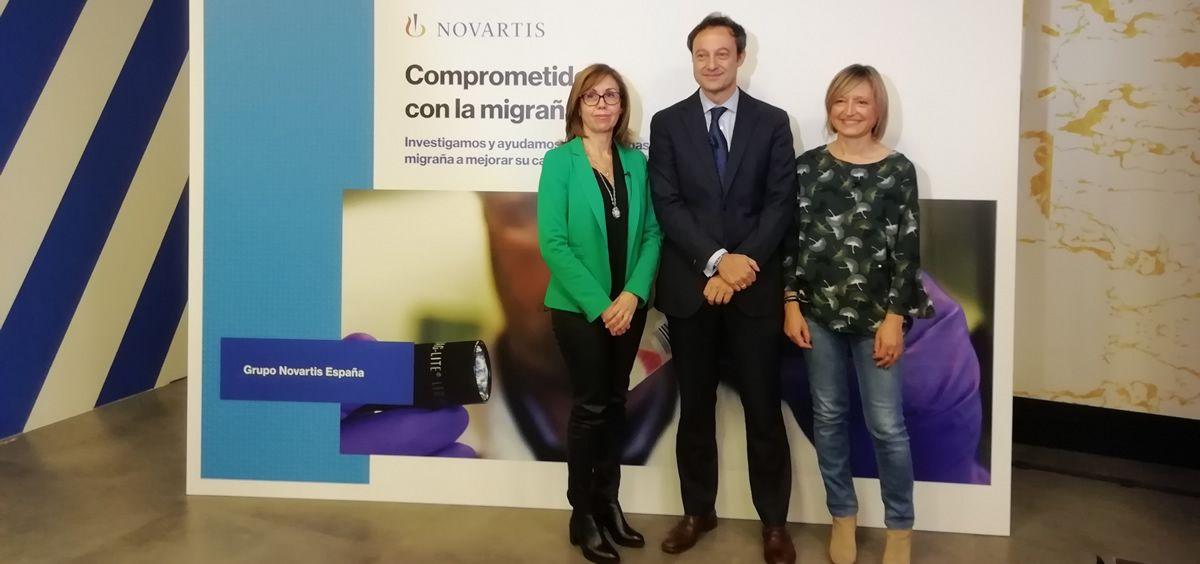 Presentación del medicamento de Novartis para la migraña crónica (Foto. ConSalud)