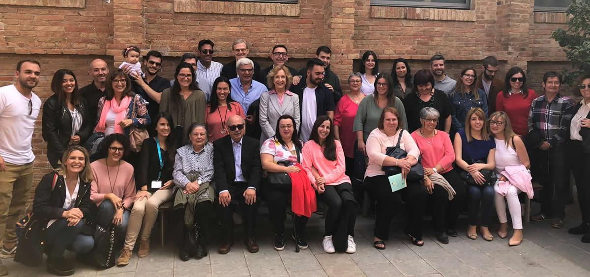 Participantes en las Jornadas de Uveítis (Foto. Auvea)