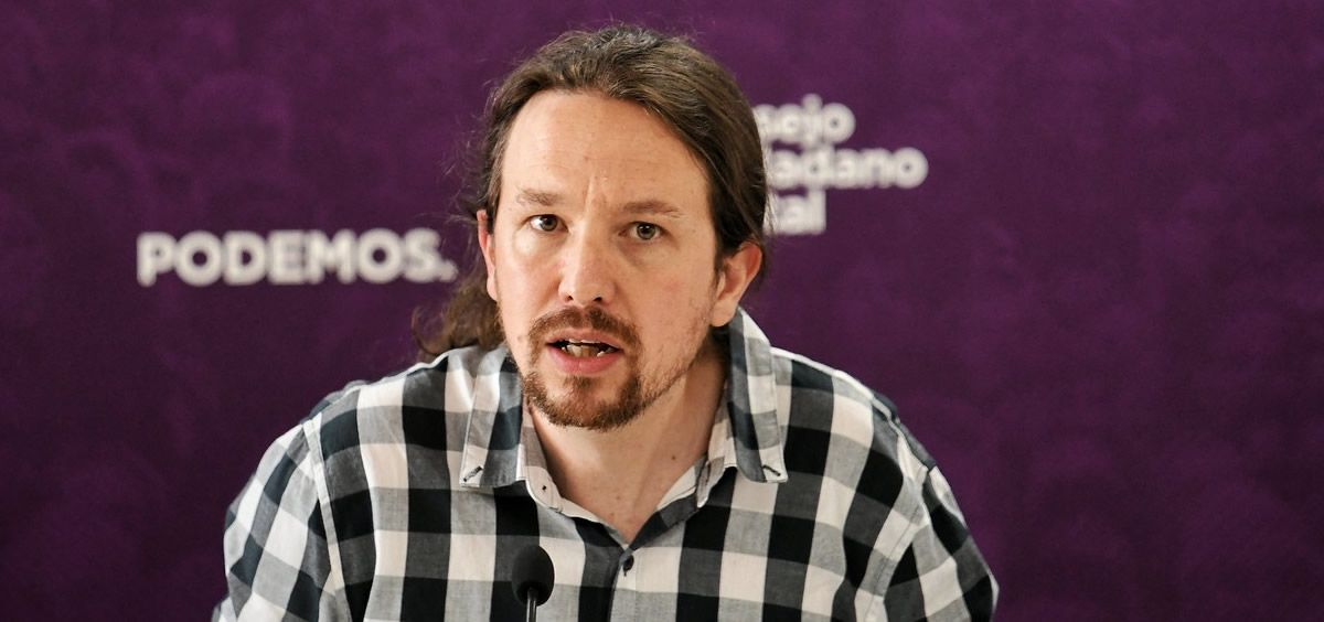 Pablo Iglesias, candidato de Unidas Podemos a la presidencia (Foto. Flickr Podemos)