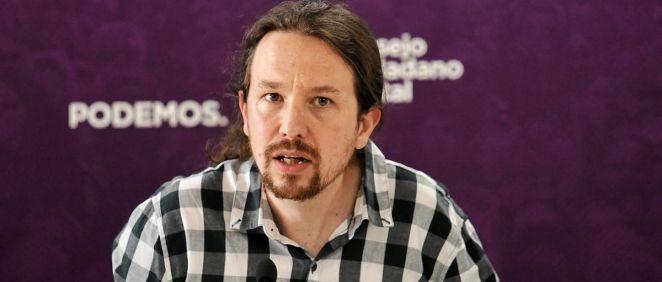 Pablo Iglesias,vicepresidente segundo y ministro de Derechos Sociales y Agenda 2030 (Foto. Flickr Podemos)
