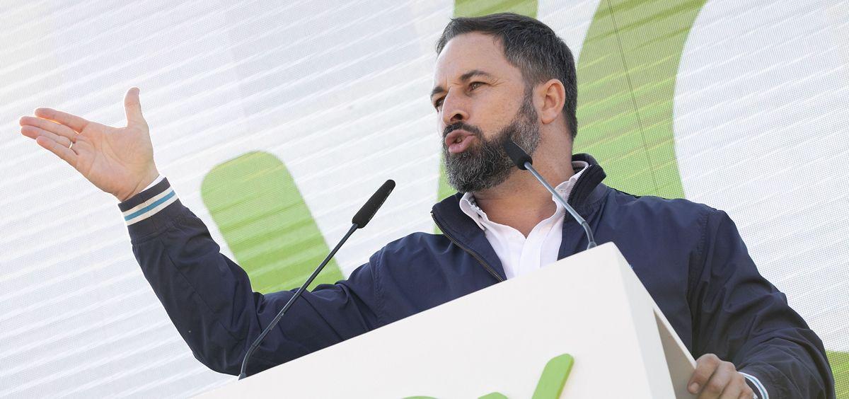 Santiago Abascal, líder de Vox (Foto. Flickr Vox)