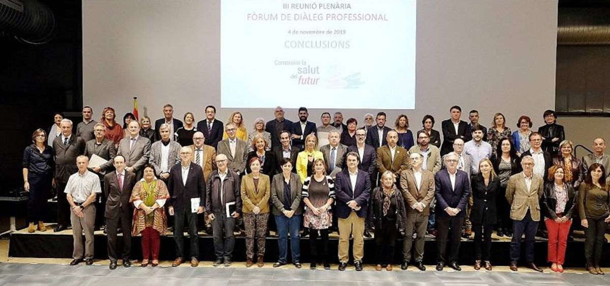 Instantánea del Foro de Diálogo Profesional celebrado en Cataluña. (Foto. MC)